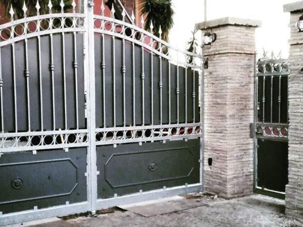foto installazioni cancelli rustico progetti roma portfolio serramenti82 roma