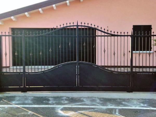 foto installazioni cancelli verde progetti roma portfolio serramenti82 roma