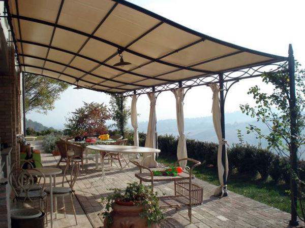 foto installazioni pensiline tettoie grandi progetti roma portfolio serramenti82 roma