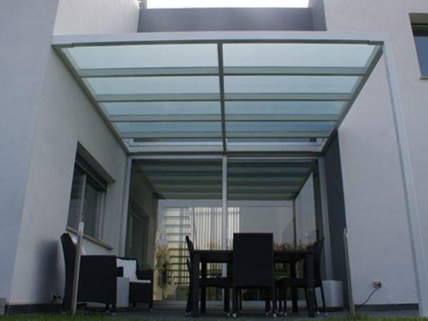 foto installazioni pensiline tettoie minimale progetti roma portfolio serramenti82 roma