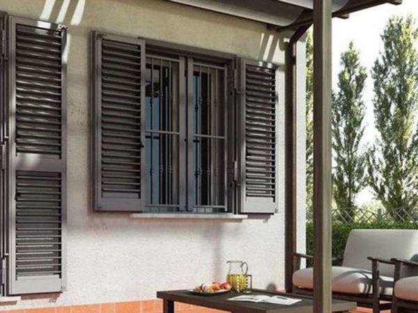 foto installazioni persiane ferro giardino progetti roma portfolio serramenti82 roma