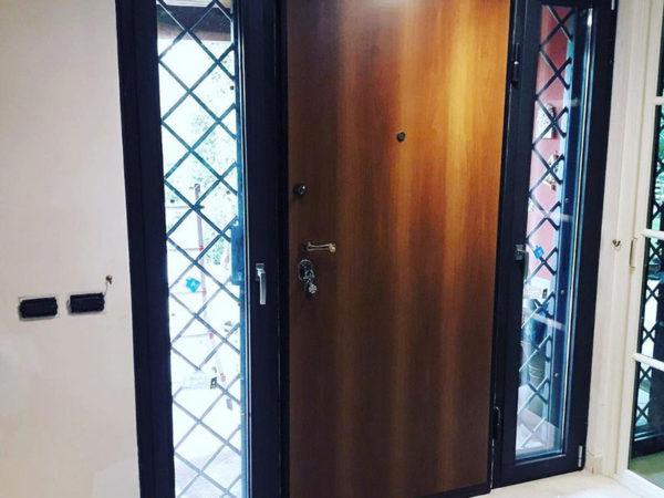 foto installazioni porte blindate legno progetti roma portfolio serramenti82 roma