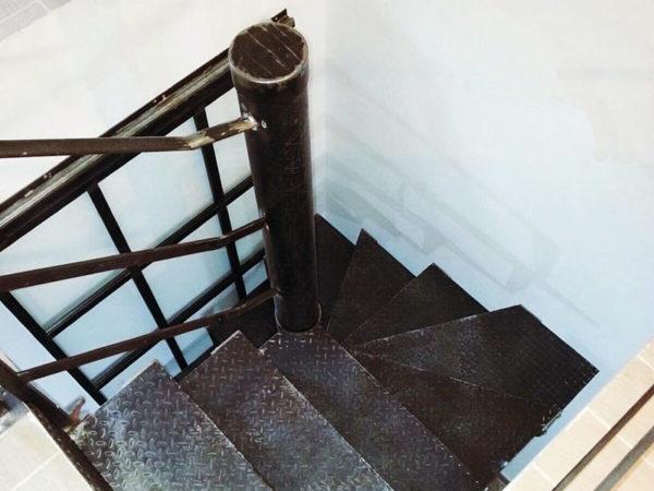 foto installazioni scale ferro progetti roma portfolio serramenti82 roma