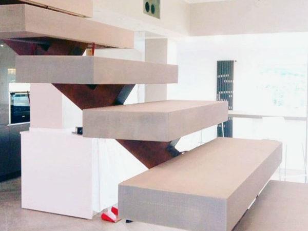 foto installazioni scale design progetti roma portfolio serramenti82 roma