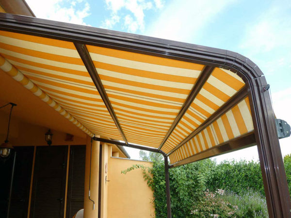 foto installazioni tende da sole colorate progetti roma portfolio serramenti82 roma