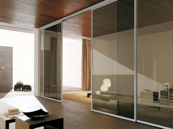 foto installazioni infissi in alluminio taglio freddo per interni progetti roma portfolio serramenti82 roma
