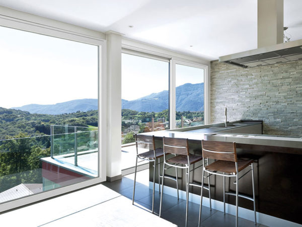 foto installazioni infissi in alluminio taglio termico vetrate progetti roma portfolio serramenti82 roma