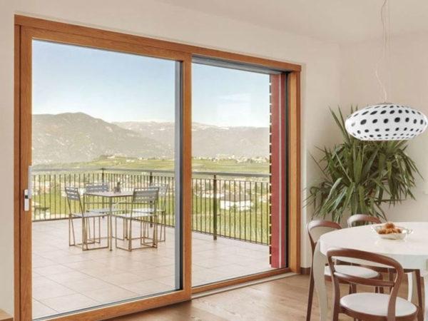 foto installazioni infissi in legno alluminio per interni progetti roma portfolio serramenti82 roma