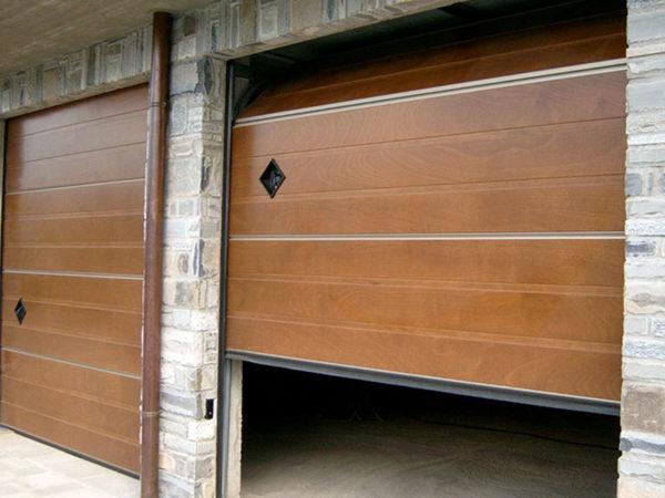 foto installazioni porte garage a slittamento a soffitto progetti roma portfolio serramenti82 roma