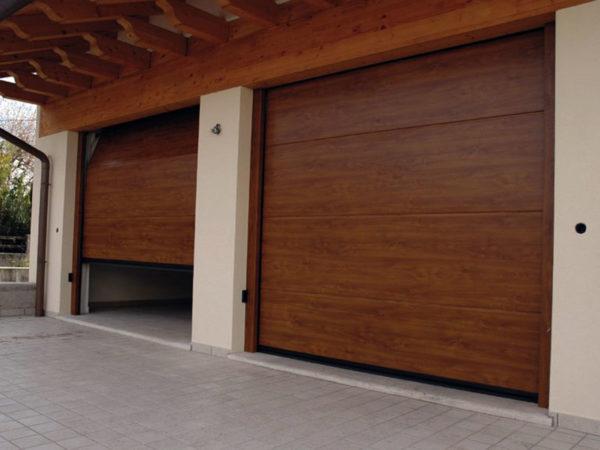 foto installazioni porte garage condominio progetti roma portfolio serramenti82 roma