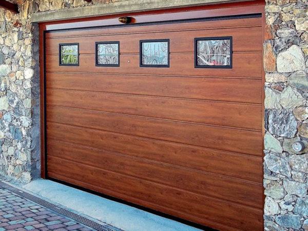 foto installazioni porte garage sezionale progetti roma portfolio serramenti82 roma